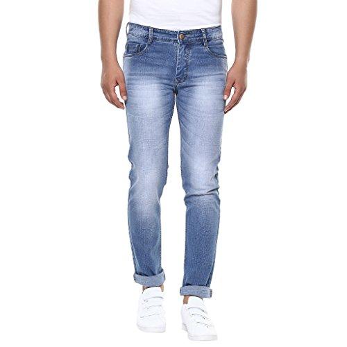 BUKKL Men's Denim Stretchable Slim Fit Jeans
