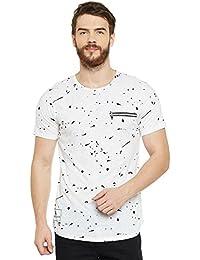Le Bourgeois Paint Splatter White T-Shirt