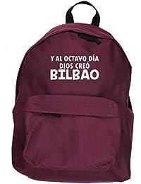 HippoWarehouse Y Al Octavo Día Dios Creó Bilbao kit mochila Dimensiones: 31 x 42 x
