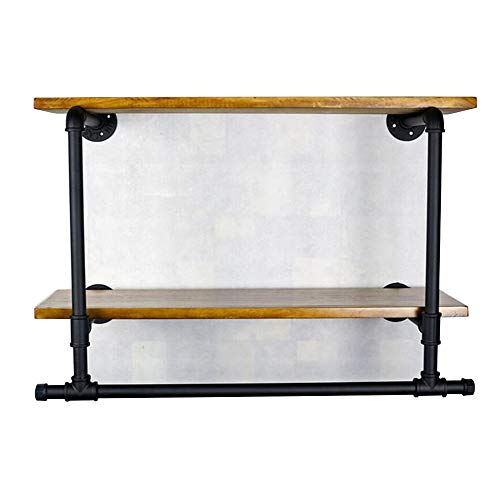 ZTH Schlafzimmer Oder Geschäft Display Retro-Rohr Rack Eisen Kleidung Shop Schrank Display-Ständer A+ (Kleidung Racks)