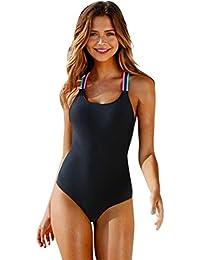 Bañadores Deportivas Mujer, ❤️Xinantime Bikini de traje de baño de mujer One-Piece