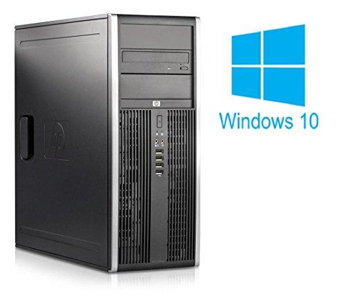 HP Elite 8200 CMT   Büro Computer/Internet PC   Intel Core i3-2100 @ 3,1 GHz   4GB DDR3 RAM   250GB HDD   DVD-ROM   Windows 10 Home vorinstalliert (Zertifiziert und Generalüberholt)