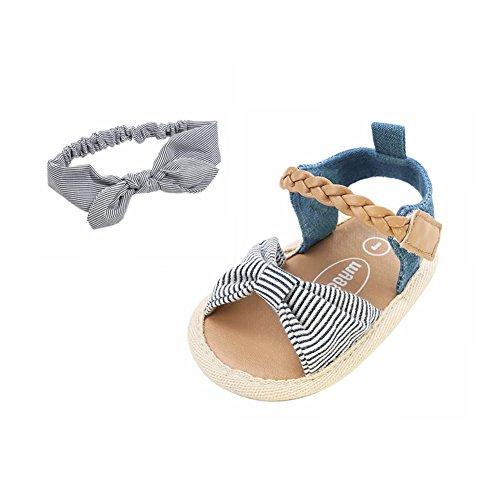 Chaussures Bowknot Cuir de Bébé Fille Bebe Chaussures Souple Minuya FwtqACO
