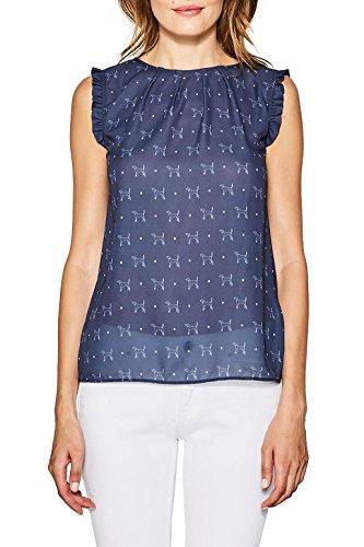 ESPRIT Collection T-Shirt Donna Blu (Navy 400)