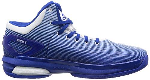 Adidas Crazylight Boost, blu / bianco, 8,5 M Us Blue/White