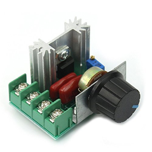 MiaZhou New Adjustable Voltage Regulator PWM AC Motor Speed Control 50V-220V 2000W