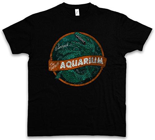 Urban Backwoods Survived Aquarium T-Shirt – Taglie S – 5XL Nero