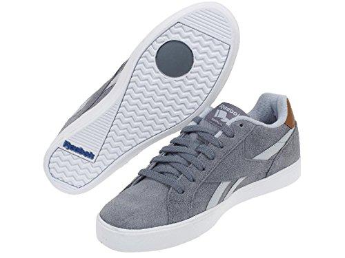 Reebok Royal Complete 2ls, Chaussures de Sport Homme, Gris Gris (Asteroid Dust / Cloud Grey / Brown Malt / Whit)