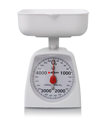 Food Scale, Digital Kitchen Scale with Glass Platform & LCD Backlight