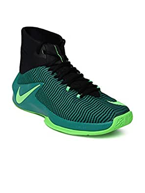 new product 5b9e2 c68c9 ... cheap nike men teal green black zoom clear out basketball shoes b4214  efc8a