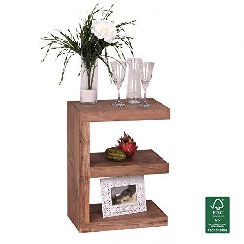 Couchtische aus akazienholz viele modelle reduzierte for Beistelltisch echtholz