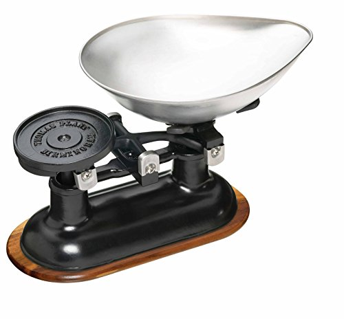 KitchenCraft Natural Elements Traditional Balance Scales Set