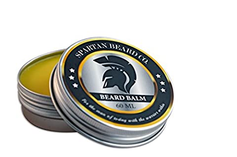 Spartan Beard Balm (60ml)–Reduces Frizz Leave-In Conditioner for Men, Body