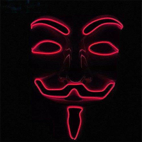Calistous EL-LED-Maske von dem Film V for Vendetta. -