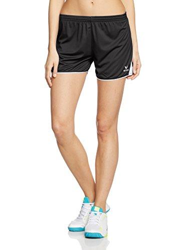 Erima Damen Classic 5-C 615311 Shorts, schwarz/weiß, 36