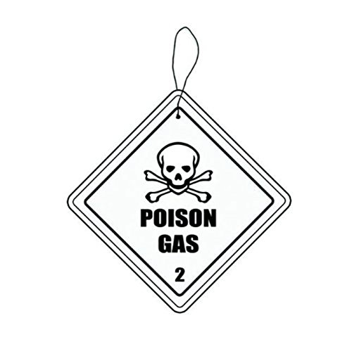 Hazmat: Poison Gas Automobile Air Freshener
