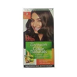 Garnier Color Naturals Cream Women - Darkest Brown 3 (pack of 2)
