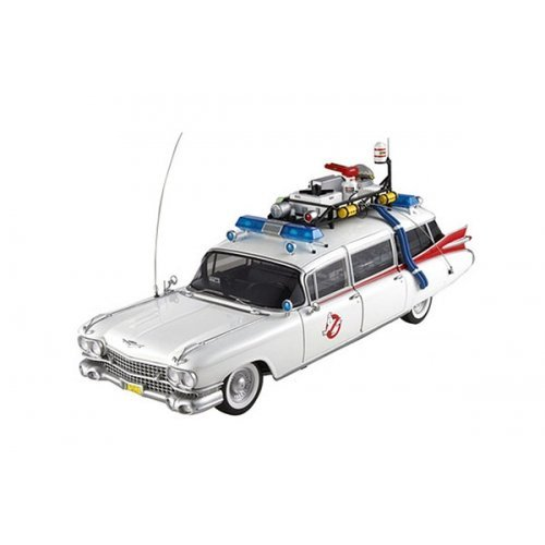 Hot Wheels Collector Ghostbusters Ecto-1 Die-cast Vehicle (1:18 Scale) by Hot Wheels - Hot 1 Wheels-ecto