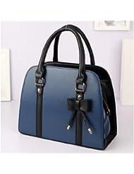 Sac à main élegant , sac femme classique, sac en plusieurs couleurs, sac Mode 2014 - Bleu Foncé