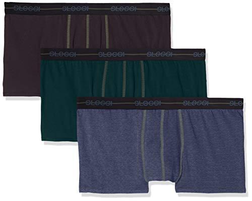971e1a81224a Sloggi Men Start Hipster C3p, Boxer para Hombre, (Multiple Colours V) XX