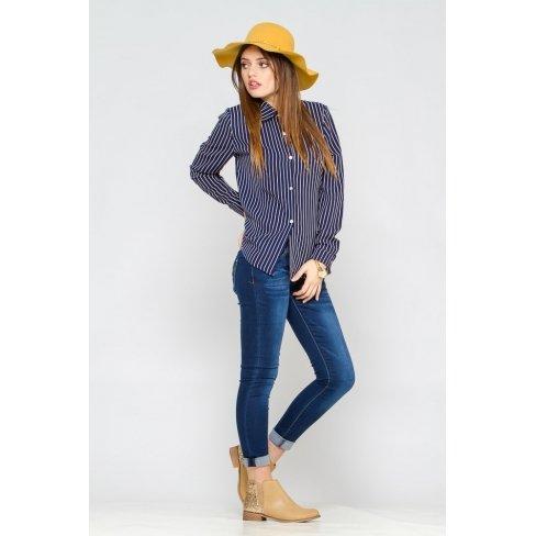 Princesse boutique - Chemise bleue à rayures Bleu