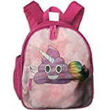 Best Emoji bookbags For Girls - Cute Magical Unicorn Poop Emoji with Rainbow Smile Review
