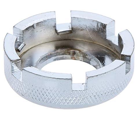SaySure - Bicycle 6 Way Spoke Nipple Key Bike Cycling Wheel Rim Spanner Wrench Repair Tool - GMN-BG-SPT-000153