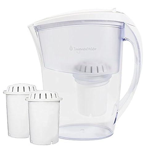 PH Refresh Alkaline Wasser Krug Ionisator von Belebter Wasser, 2Longlife