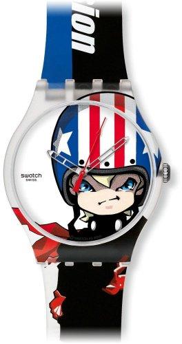 Swatch Jungen-Uhren Transmission SUOZ109