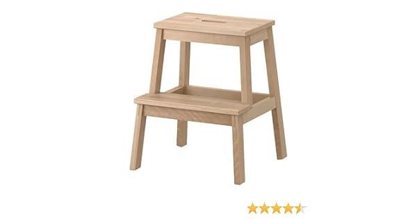 Ikea bekväm sgabello in legno di betulla 39 x 43 x 50 cm: amazon