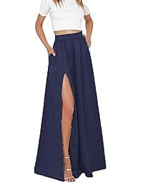 aed5def837a6e Suchergebnis auf Amazon.de für: blaue blaue - Maxi / Röcke / Damen ...