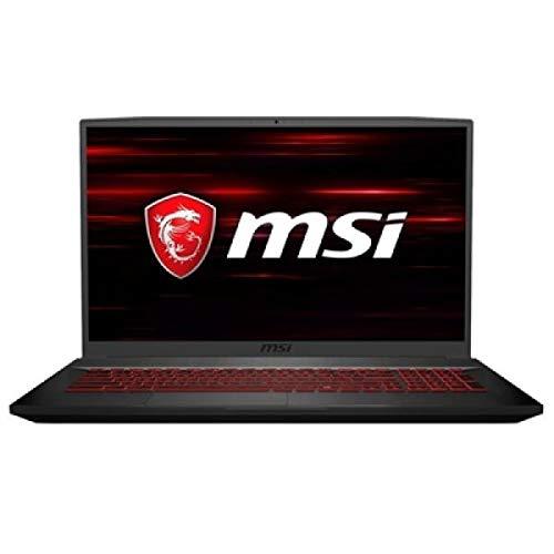 "MSIGF75 Thin 8RD-011ES - Ordenador portátil Gaming 17.3\"" FullHD (Intel Core i7-8750H, 16GB RAM, 1TB HDD + 512GB SSD, Nvidia RTX 1050Ti 4GB, Windows 10) Teclado QWERTY Español"