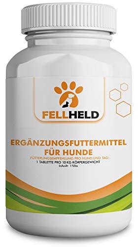 [EINFÜHRUNGSPREIS] Gelenktabletten für Hunde mit Grünlippmuschel, Magnesium, Vitamin C und E, Selen, Methionin - 90 Kapseln Ergänzungsfutter - Made in Germany - Allrounder der Gelenkgesundheit