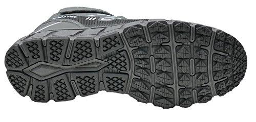 GIBRA® Herren Sneaker, warm gefüttert, grau, Gr. 47-49 Grau