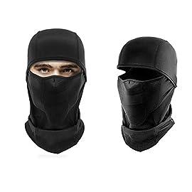 Passamontagna Maschera Viso Antivento da Sci,Protezione dal Freddo  Anti-polvere Maschera Viso Completa   Cappuccio Regolabile Faccia Testa per  Donne ... b32a7c2c1c9e