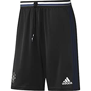adidas MUFC TRG SHO - Shorts -Manchester United FC for Men, 4XL, Black/Blue/White