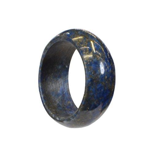 Ring Lapis Lazuli, ca. 8 mm, Größe 18