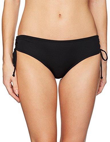 Coco Reef Damen Classic Solids Smooth Curves Bikini Bottom Bikinihose, Castaway Black, Medium - Solid Classic Bikini Bottoms