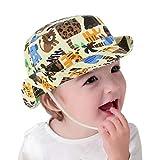 GEMVIE Sonnenhut Baby Fischerhut Kinder Jungen Mädchen Sommerhut für 0-6 Jahre (Umfang von Hut 48cm)