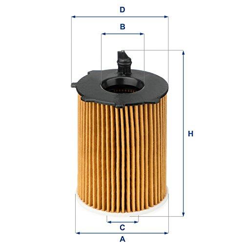 UFI-Filters-2503700-Elemento-Filtrante-Olio