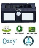Ozoy Motion Sensor Waterproof 40 LED Solar Light Solar Powered LED Garden Light