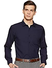 Diverse Men's Solid Slim Fit Formal Shirt