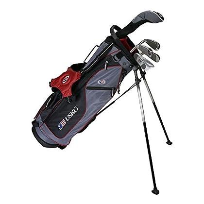 US kids Golf UL 60 Set Bolsa de Palos, Unisex niños, marrón, 11 a 13 años