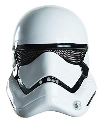Horror-Shop Star Wars VII Stormtrooper Halb-Maske (Wars Star Kunststoff-masken)