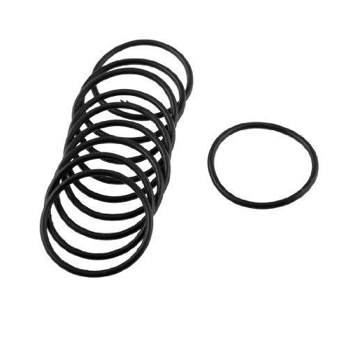 sourcingmap-guarnizione-sigillante-filtro-olio-o-ring-nera-diametro-esterno-30mm-spessore-2mm-10-pez