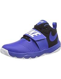 online retailer b2a92 e944c Nike Boys  Team Hustle D 8 (Gs) Basketball Shoes
