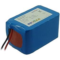 LionTec Golf Caddy Batterie Akku 12 V (14,8 V) - 13,2 Ah für Powerbug