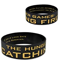 The Hunger Games Catching Fire Mockingjay Silicone Bracelet
