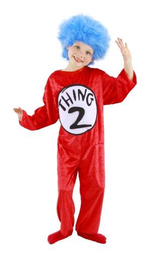 Elope Dr. Seuss Ding 1 oder Ding 2 Kostüm (Kind (Kostüme 2 Süßes Ding 1 Ding)