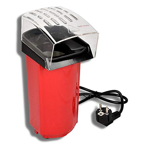 HSM Popcorn Maschine 900 Watt Popcorn – Maker Popcornautomat Popcorngerät